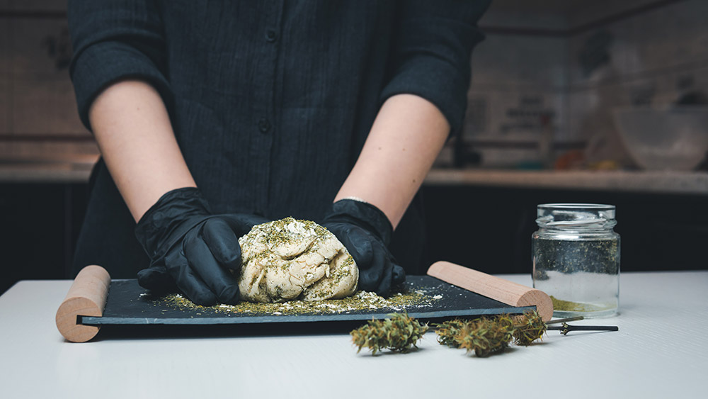 Bake with Weed